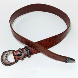 Banana Republic Accessories - Banana Republic Brown Leather Belt Size 28